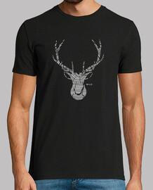 wild wood deer head