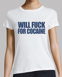 will scopare for la cocaina
