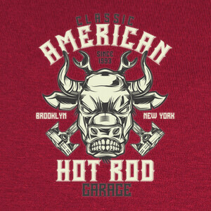 Camisetas Hot Rod Garage