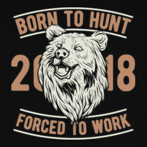 Camisetas Born to Hunt