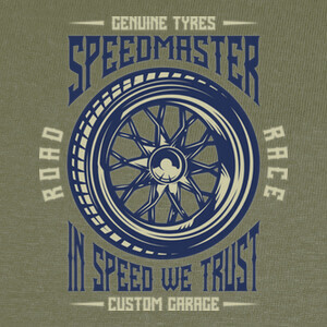 Camisetas In Speed We Trust
