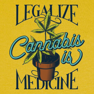 Camisetas Cannabis is Medicine