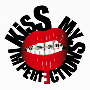 Camisetas Kiss my imperfections