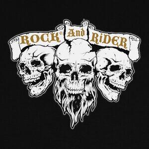 Camisetas Skull Rock And Rider®
