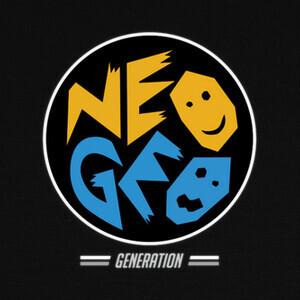 Camisetas Neo Geo Generation - Negro