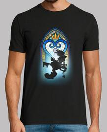 Window heart t-shirt