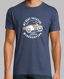 Windsurf camiseta hombre surfero