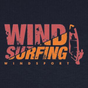 Tee-shirts windsurfing orange
