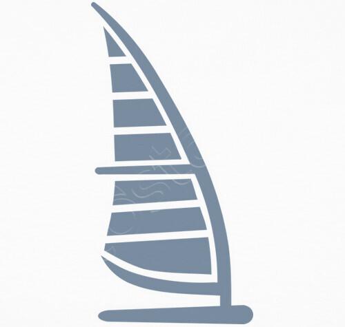 Tee-shirt planche à voile logo - 1008092 | Tostadora.fr