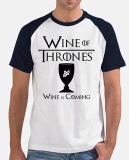 wine di troni - b & w baseball