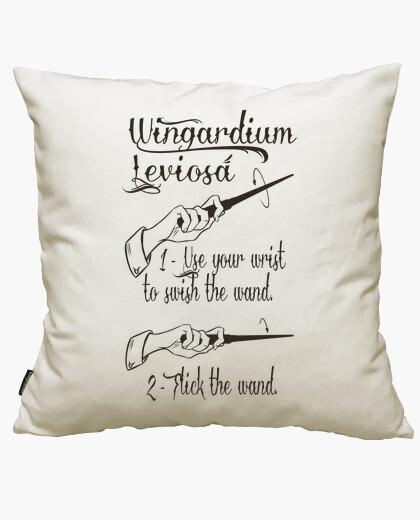 Wingardium leviosa cushion cover