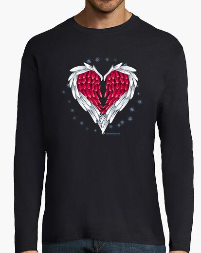 Wings heart t-shirt
