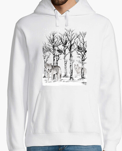 Sudadera Winter in the forest