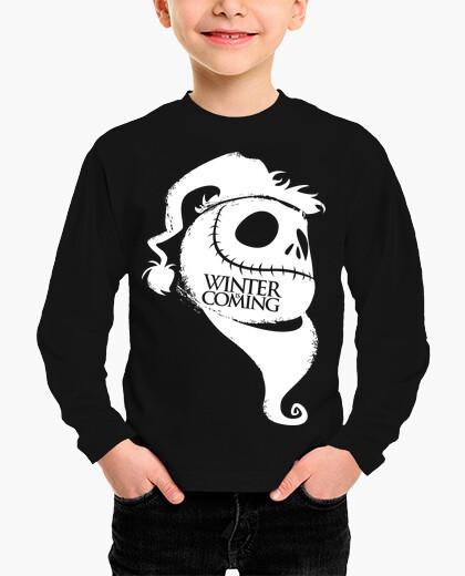 Ropa infantil Winter is coming- Nightmare before Chri