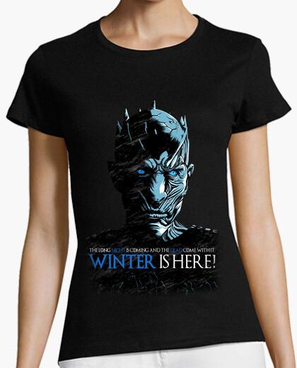 Camiseta WINTER IS HERE night king