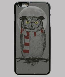 winter owl scatola
