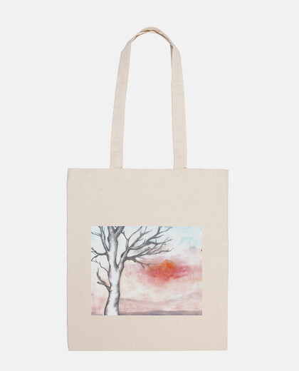 winter tree bag short handle
