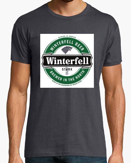 Camiseta Winterfell. Invernalia. Game of Thrones