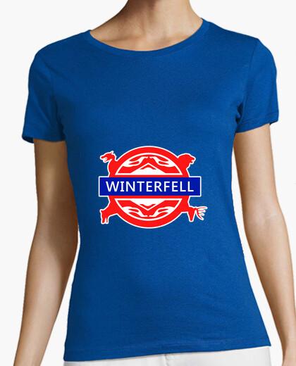Camiseta Winterfell underground