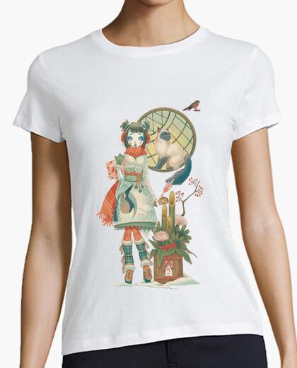 Tee-shirt winterkokeshi