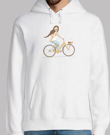wir fahren mit dem Fahrrad