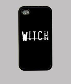 Witch... Funda iPhone 4, Negra