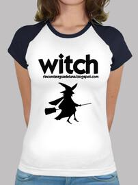 Witch! Mujer, Estilo béisbol, Blanca y azul marino