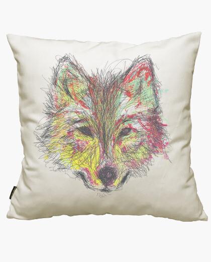 Housse de coussin wolf 2 couleur