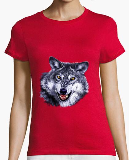 Wolf / wolf t-shirt