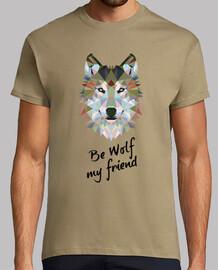 wolf be my friend. m / c boy