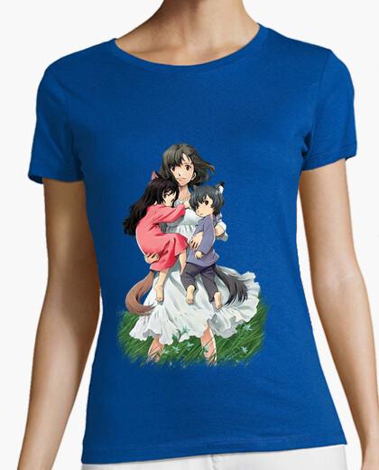 Camiseta Wolf children