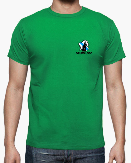 Wolf group, back print t-shirt