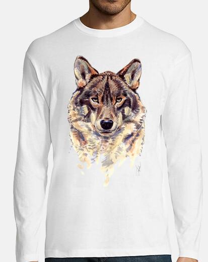 wolf manga boy long