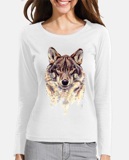 wolf manga girl long