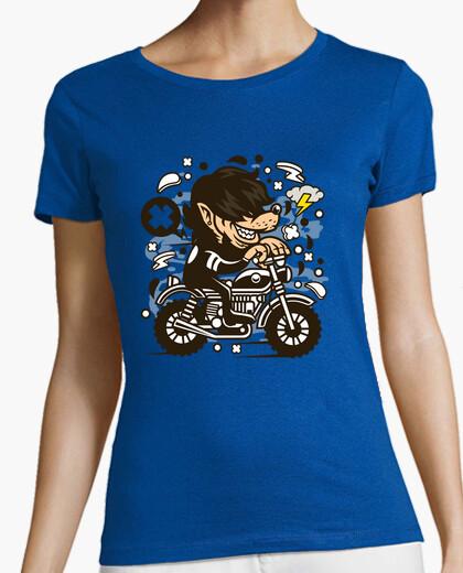 Camiseta Wolf Motocrosser