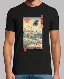 wolf princess ukiyo e shirt uomo