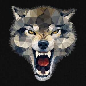Camisetas Wolf Techy Art