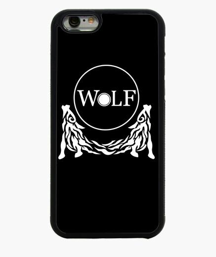 Funda iPhone 6 / 6S Wolf white
