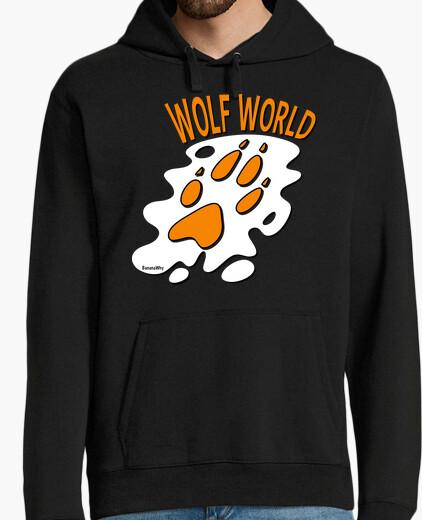 Wolf world hoodie