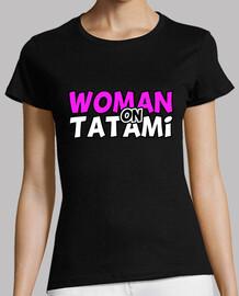 Woman on Tatami