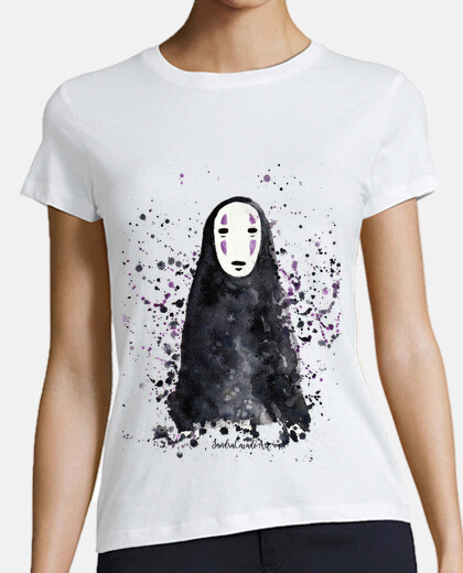 woman t-shirt face the trip of chihiro