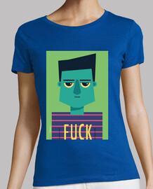 woman t-shirt fuck (various models and colors)