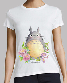 woman t-shirt my neighbor totoro