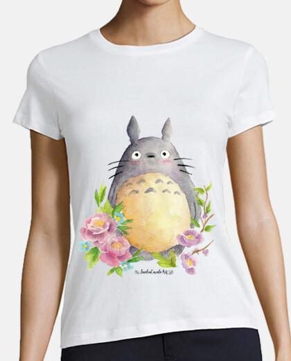woman t-shirt my neighbor totoro