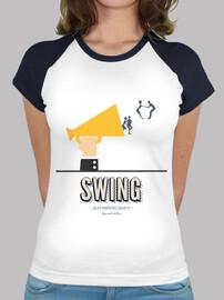 woman t-shirt swing sexy hoppers