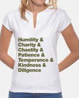 Women, mandarin collar