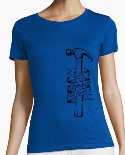 Women, short sleeve, sky blue, premium quality t-shirt