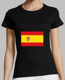 Women t-shirt SPANISH FLAG (ESPAÑA)