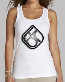 Women, Tank top, White