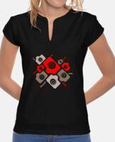 Women's, mandarin collar